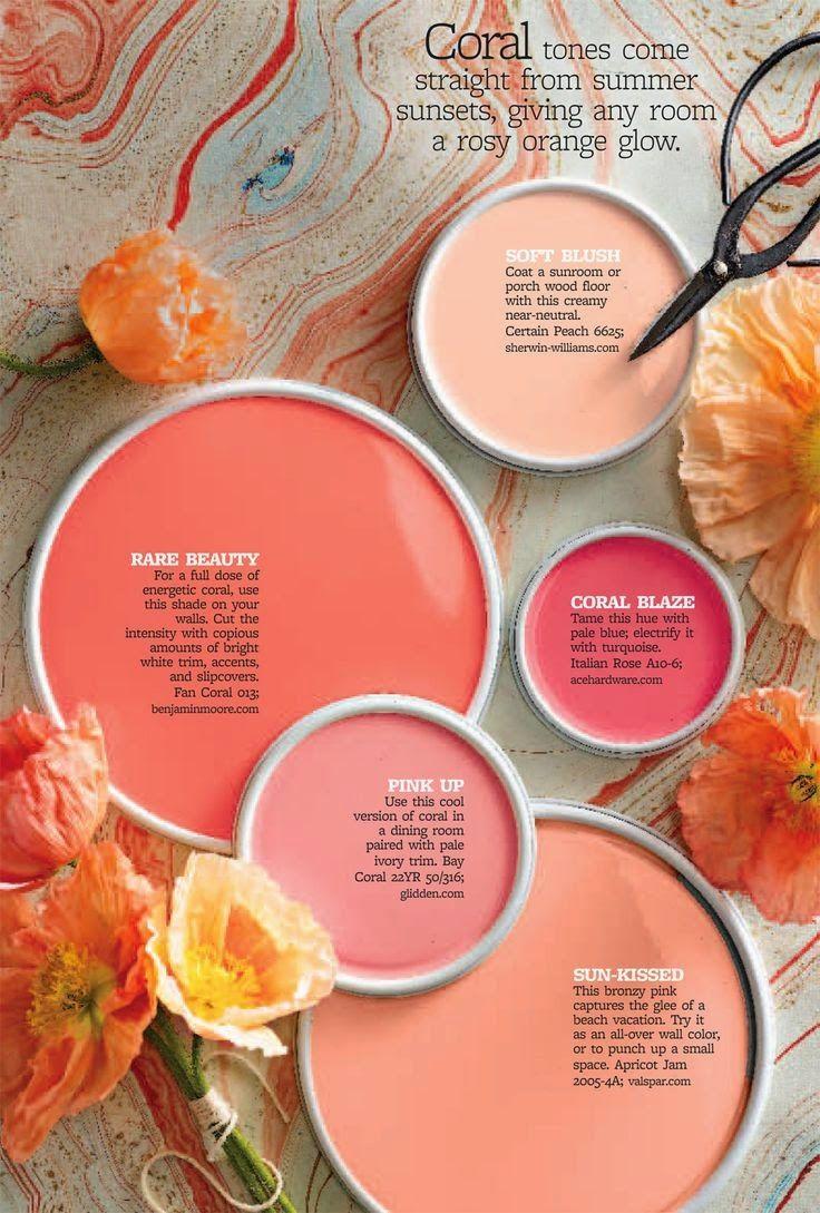 Home-Styling: This Flamingo color drives me nuts * Este tom coral flamingo tira-me do sério!!