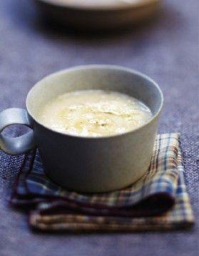 Soupe celeri pommes super light et bonne