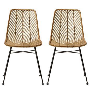 Les 25 meilleures id es de la cat gorie chaises en rotin for Chaise rotin moderne