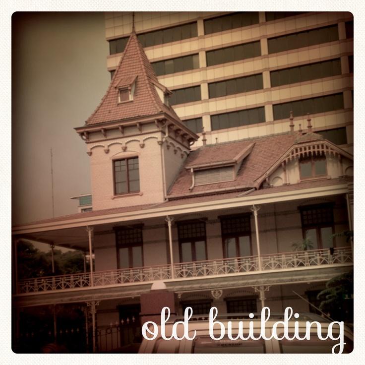 #Old building in #Jakarta