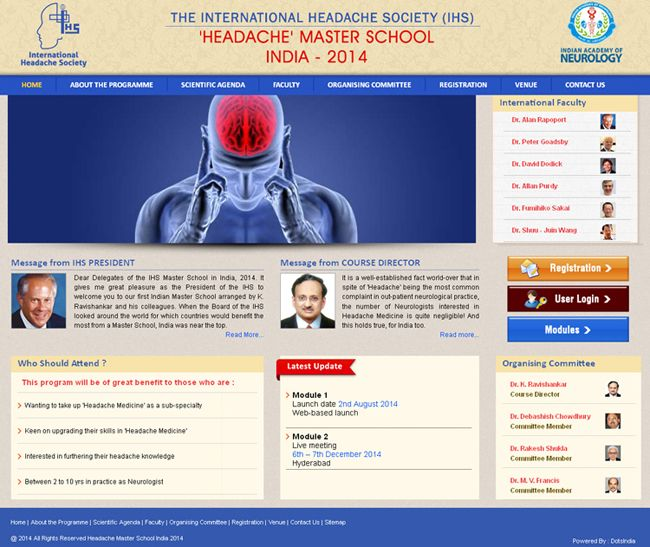 HMS India Website Developed by Dots Info Systems (I) Pvt.Ltd.