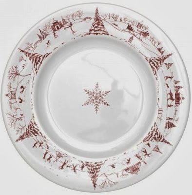 Horse Country Chic: Holiday Dinnerware by Juliska. Love!!