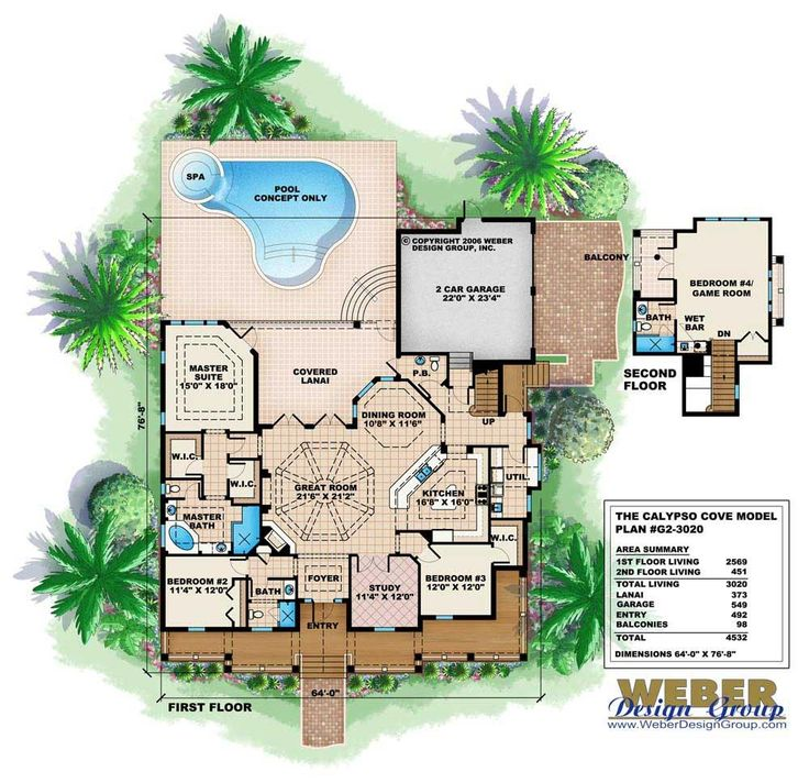 home floor plans color. House plans with color pictures  design