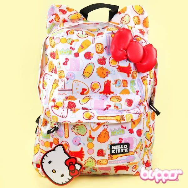 Hello Kitty Backpack - White
