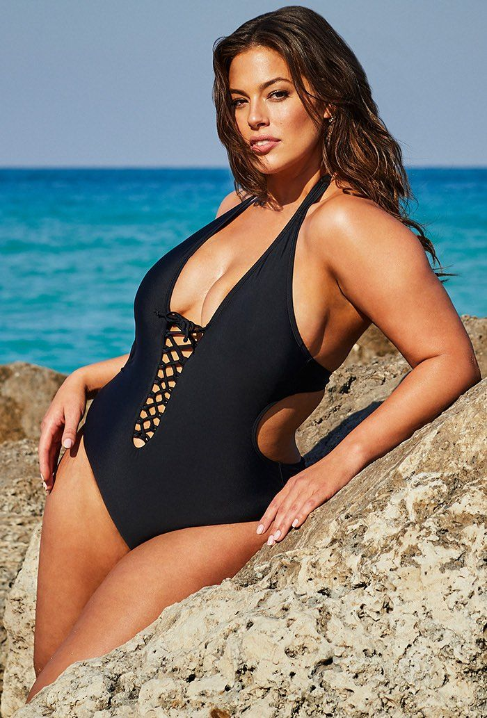 4e5af44c608 Buy Ashley Graham x Swimsuits For All VIP Black Swimsuit at  SwimSuitsForAll.com. Easy returns and exchanges. Check out our special  swimsuit sale of the day!