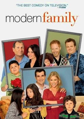 One of the best comedies EVER. 5 stars.  Modern Family This Emmy-winning mockumentary sitcom follows Jay Pritchett (Ed O'Neill) and his diverse family -- including his younger Colombian wife (Sofía Vergara) and her son (Rico Rodriguez) -- as they deal with the challenges of contemporary life in L.A.. While Jay's daughter (Julie Bowen) raises three kids with her husband (Ty Burrell), Jay's son (Jesse Tyler Ferguson) and his partner (Emmy winner Eric Stonestreet) have adopted a Vietnamese…