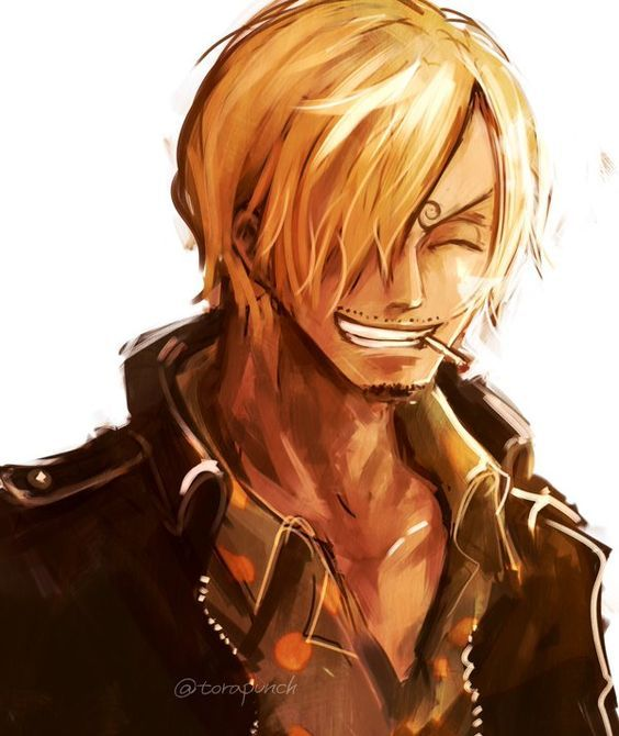 Ok, that smile does it. Need a separate board for Sanji ! *o*