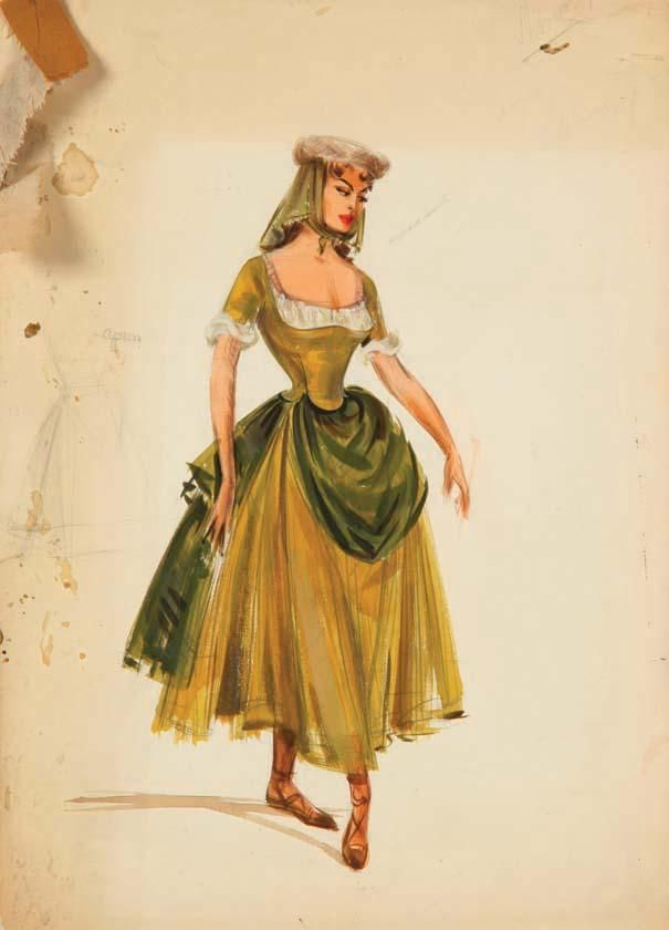 Pair of Irene Sharaff costume sketches from Brigadoon  sc 1 st  Pinterest & 16 best Brigadoon Costume ideas (Fiona) images on Pinterest | Celtic ...