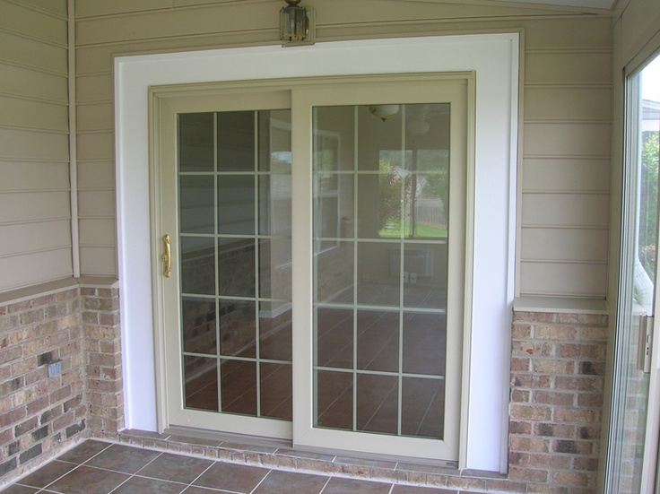 This Sliding Glass Door Is Energy Efficient And A Lovely Way To