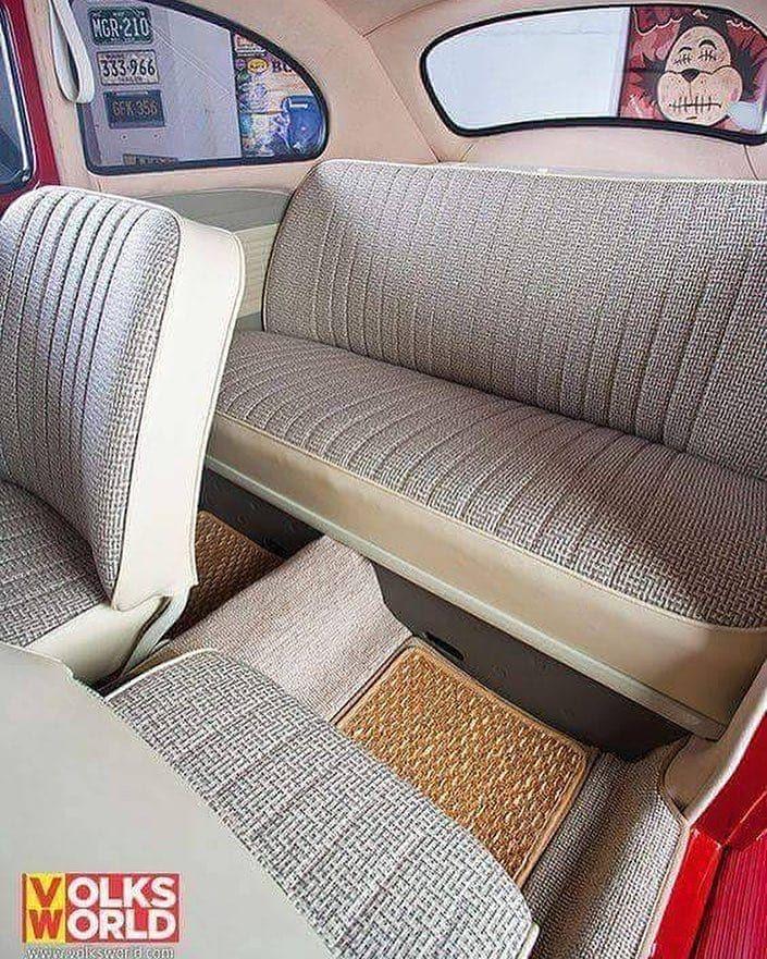 Interior No Capricho Fuscavolks Vw Beetle Volkswagenfusca Vw Bug Interior Vw Beetles Volkswagen Beetle
