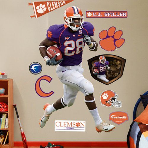 CJ Spiller Clemson Tigers Poster