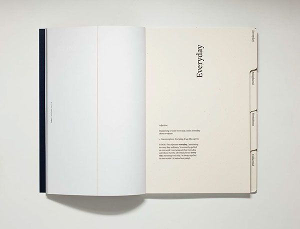 Effective, clean, elegant use of dividers Archive Magazine on Editorial Design Served