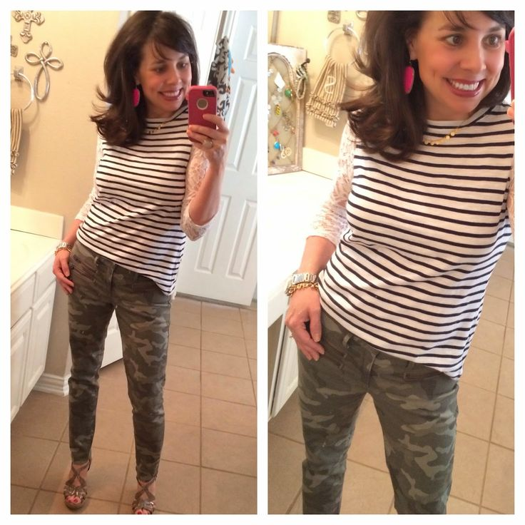 Pinterest Told Me To: STRIPES AND LACE ON SALE! JUST GO FOR IT!
