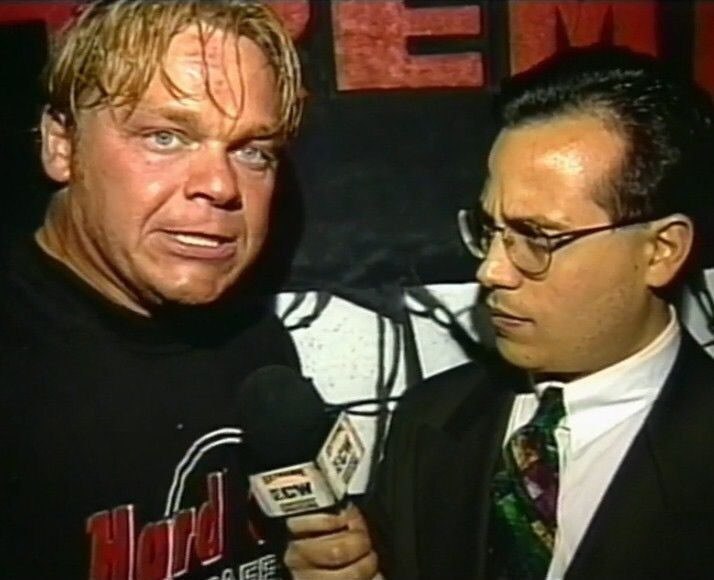 Shane Douglas and Joey Styles