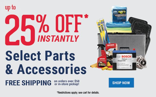 Pepboys Promo Code >> 20 Off Any Online Order Of Select Parts And Accessories