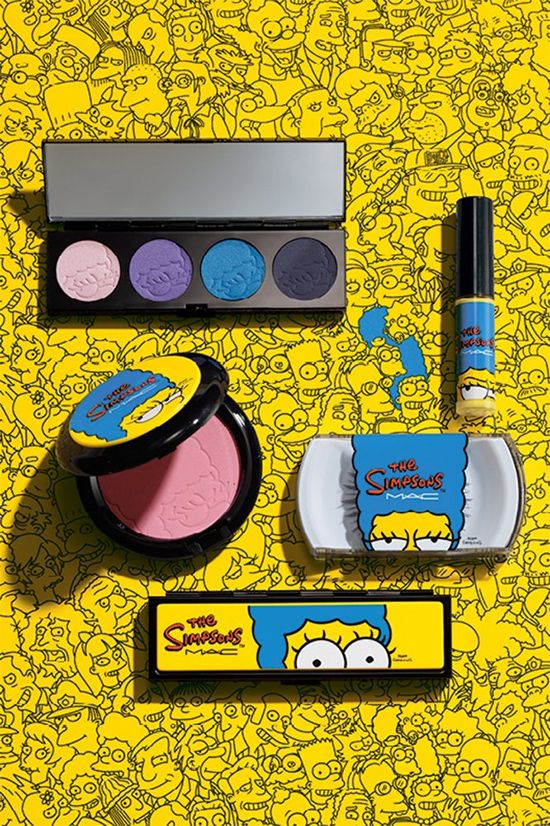 MAC x Marge The Simpsons Collection for Fall 2014. I WILL DIE IF I DON'T GET MY HANDS ON THIS.