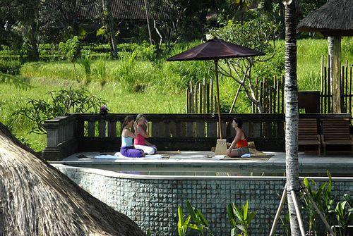 yoga at villa bayad  #yoga ubud bali villa,  bali yoga  #yoga in ubud