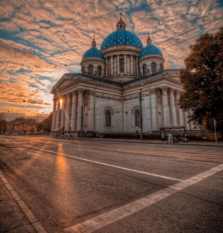Trinity Cathedral,Saint Petersburg