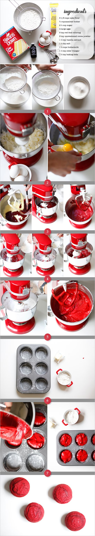 Red velvet cupcake  <3