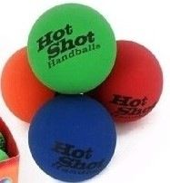 These high bounce balls are great for a game of handball with friends or an individual game up against the wall.