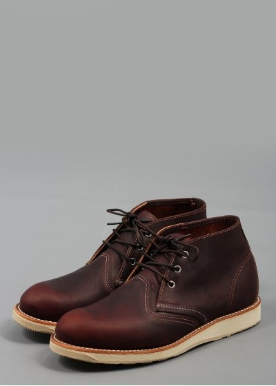 Red Wing Chukka Boot 3141 Leather Brown