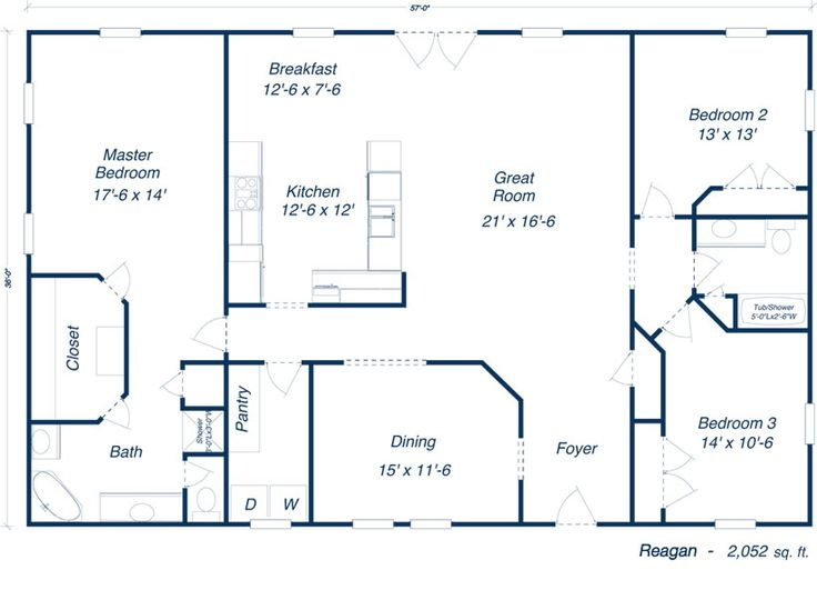 Barn homes floor plans 2014 metal building floor plans for Pole barn house blueprints