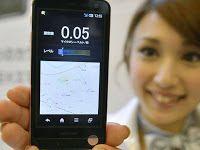 Smartphone com medidor de radioatividade - http://www.blogpc.net.br/2012/05/smartphone-medidor-radioatividade.html #smartphone #Japão