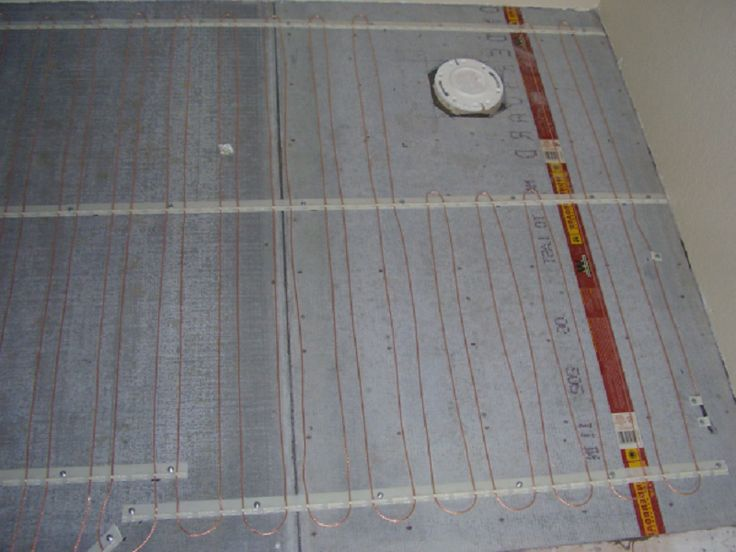 Bathroom Floor Heat Coils ~ http://lanewstalk.com/the-heated-tile-floor-project-preparation/