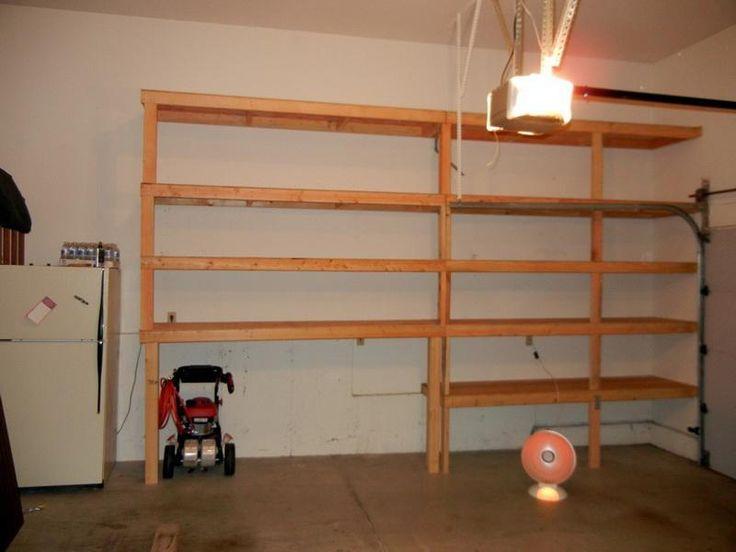 Diy Garage Shelves From Ceiling Part 25