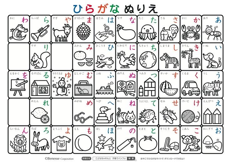 あいうえお表(あいうえおひょう)AIUEO Chart | 平仮名表(ひらがなひょう) #Hiragana Chart
