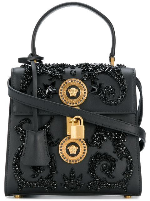 1f711ff1f Compre Versace Bolsa tiracolo 'Medusa' de couro.