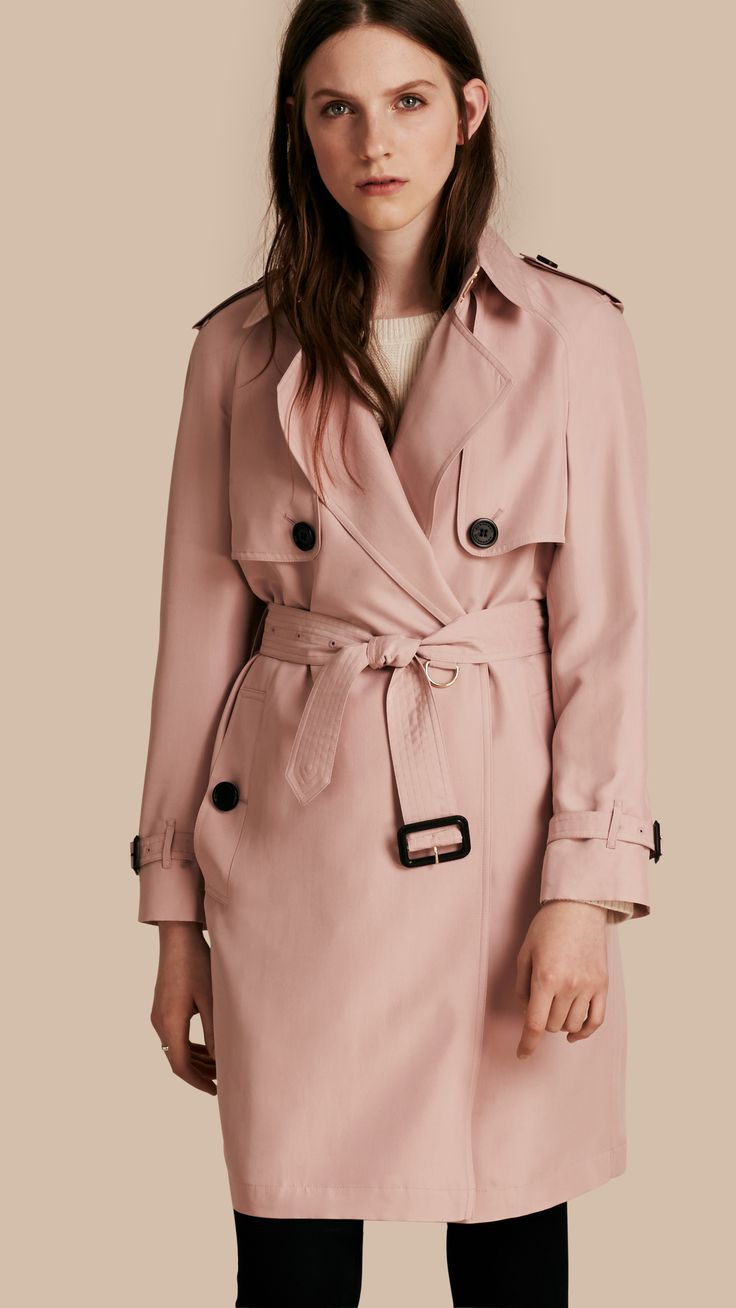 american apparel lightweight dylan trench pink - Google 검색