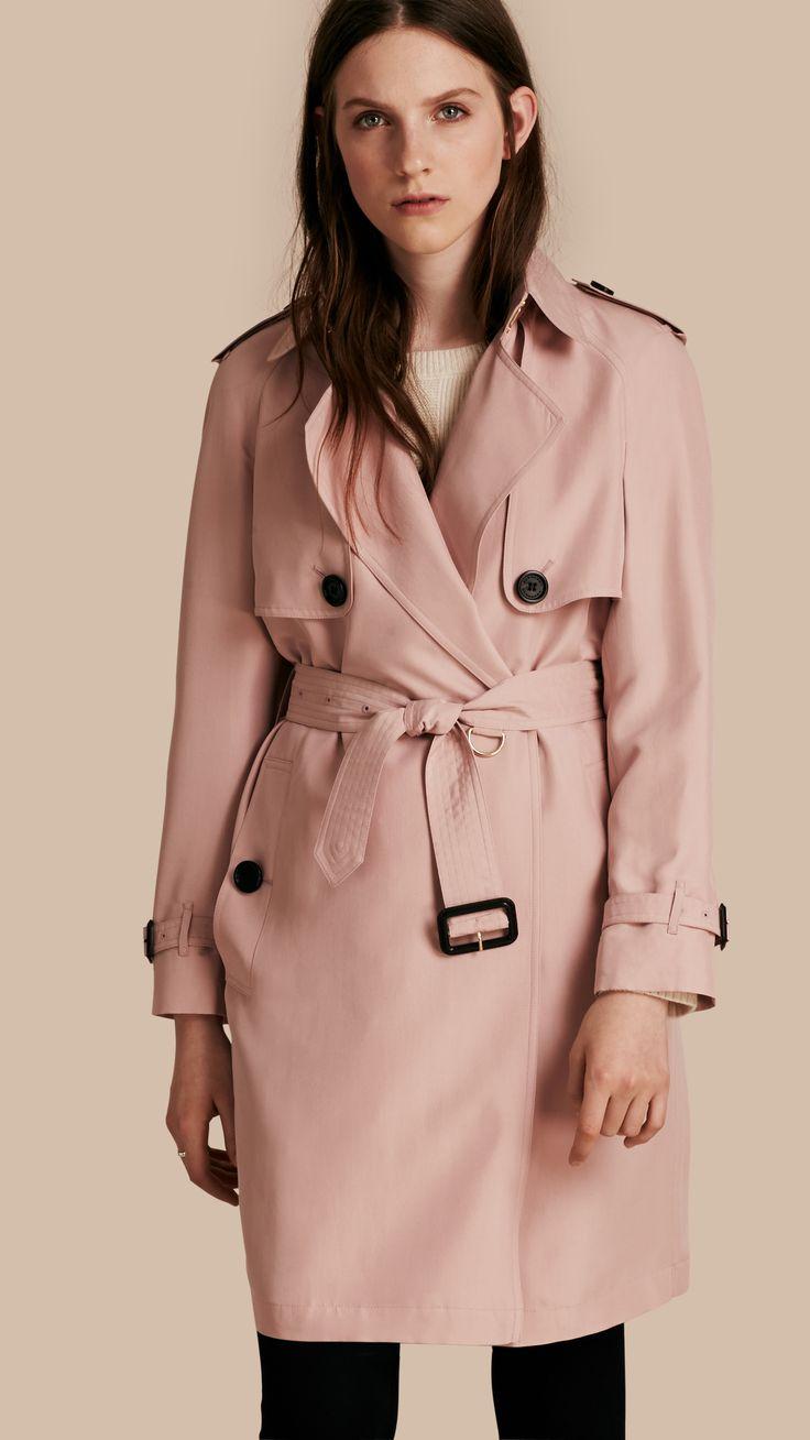 american apparel lightweight dylan trench pink - Google 검색