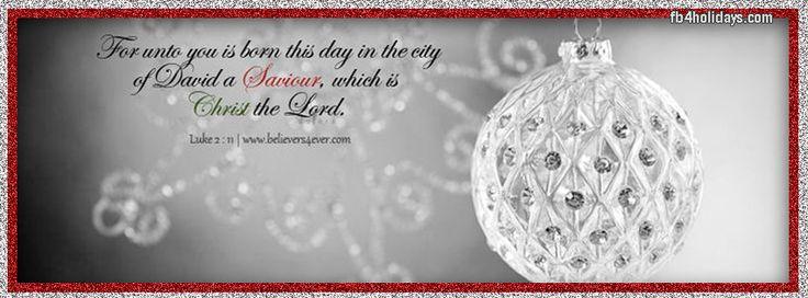 facebook cover scripture Luke 2:11