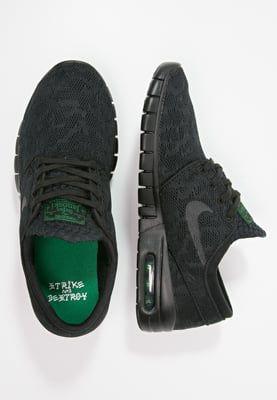 Nike SB STEFAN JANOSKI MAX - Skatersko - black/pine green - Zalando.dk