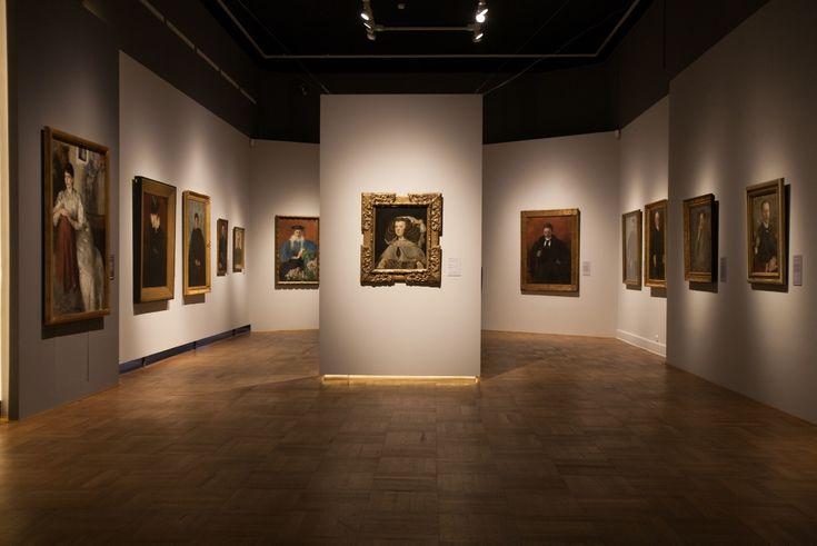 Matosek/Niezgoda, National Museum in Warsaw, exhibition of Olga Boznanska. Photo: Monika Bajkowska / © Muzeum Narodowe w Warszawie