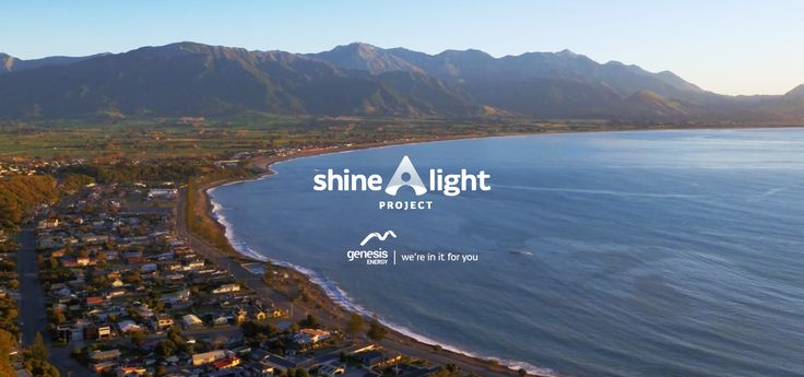 At Genesis Energy, we think it's time to Shine a Light on people putting their energy towards something amazing in your community.