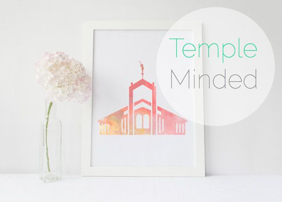 Freiberg Germany LDS Temple Printable Art Download by TempleMinded