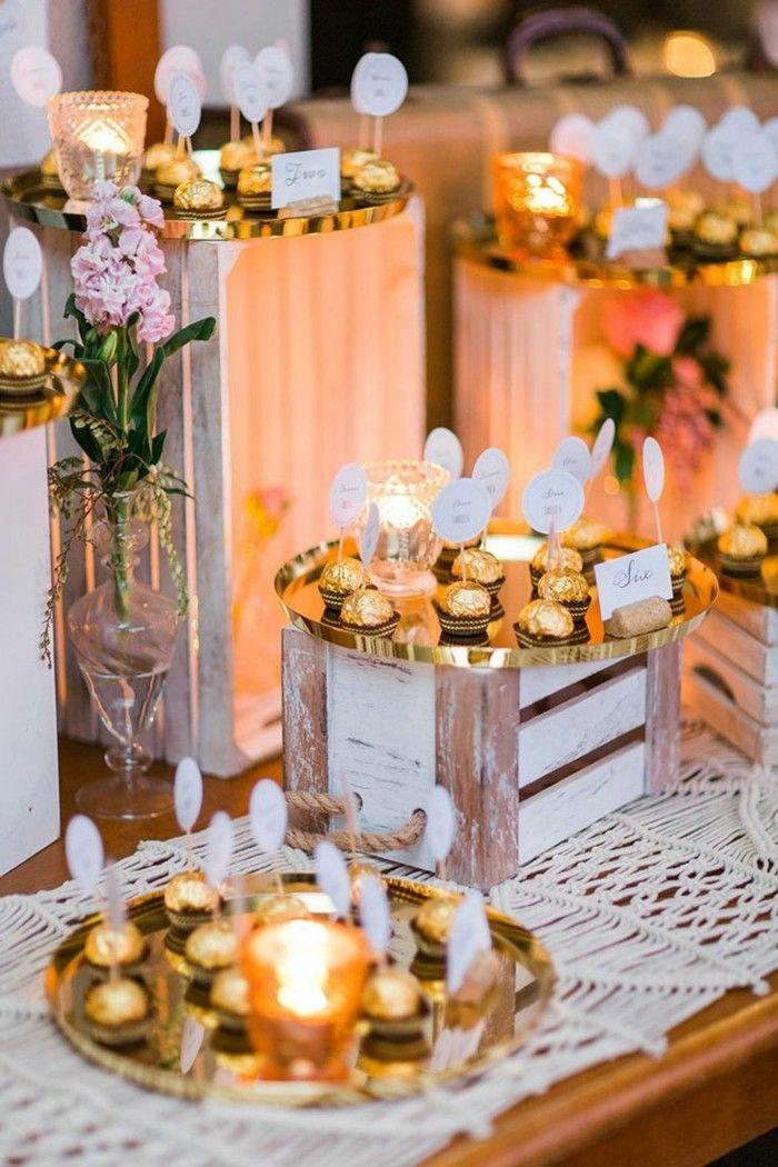 Beautiful tischdeko hochzeit heiraten im herbst hochzeit im oktober goldig