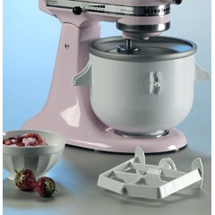 KitchenAid Artisan Ice Cream Maker. I want this!