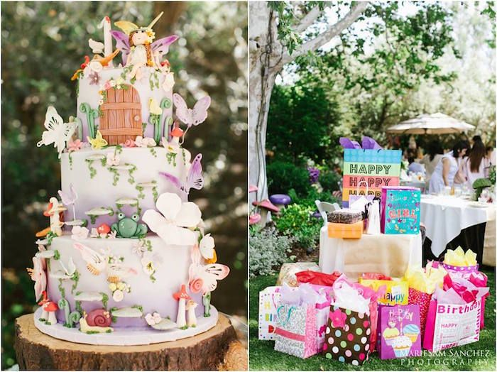 156 best Fairy Birthday Party Ideas images on Pinterest Garden