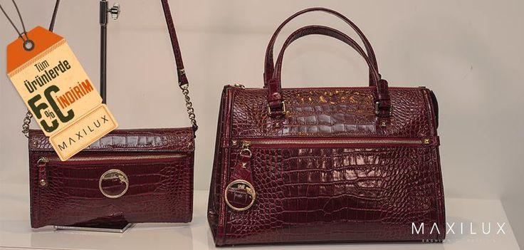 Şimdi çantanızla göz kamaştırma zamanı! #Maxilux #Giyim #Marka #Moda #Çanta #Fashion #Brand #Bag