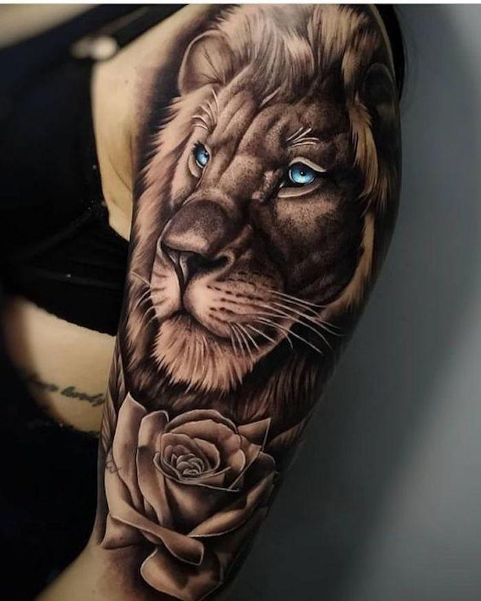 37 Tatuagens de Leão Fantásticas #tatuagensfeminina #tatuagenspequenas  #tatuagensfeminas #tatuagensfrases… | Tatuagens de leão, Tatuagens,  Tatuagem de leão no braço