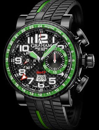 graham watches | Graham-London Presents Silverstone Stowe GMT Watch Watches Channel