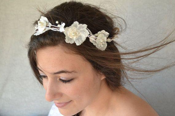 Bridal Accessories Bohemian Wedding Hair by BridalSpecialDay, €51.00 Rustic.Woodland Wedding.Organic.Creative.
