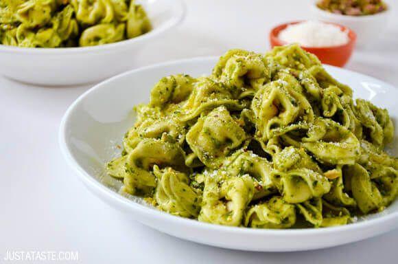 30-Minute Pistachio Pesto Tortellini Recipe