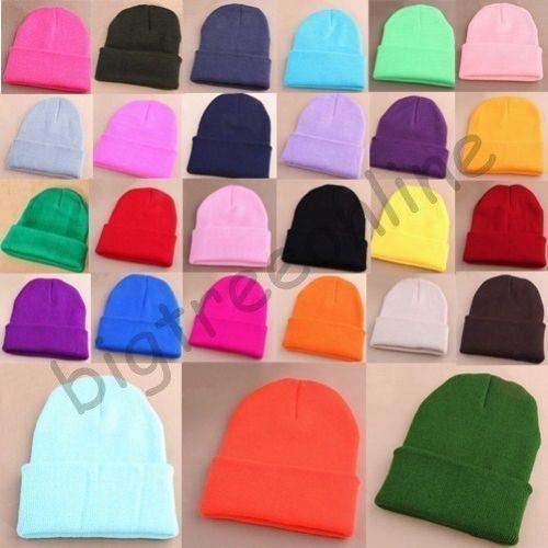 http://www.ebay.pl/itm/Mens-Women-Beanie-Knit-Ski-Cap-Hip-Hop-Blank-Color-Winter-Warm-Unisex-Wool-Hat-/291244141553?var=