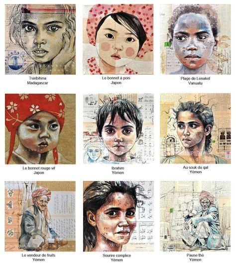 Je propose des reproductions de mes peintures sur papier ou sur toile tendue sur châssis.        Si vous souhaitez commander une reproduc...