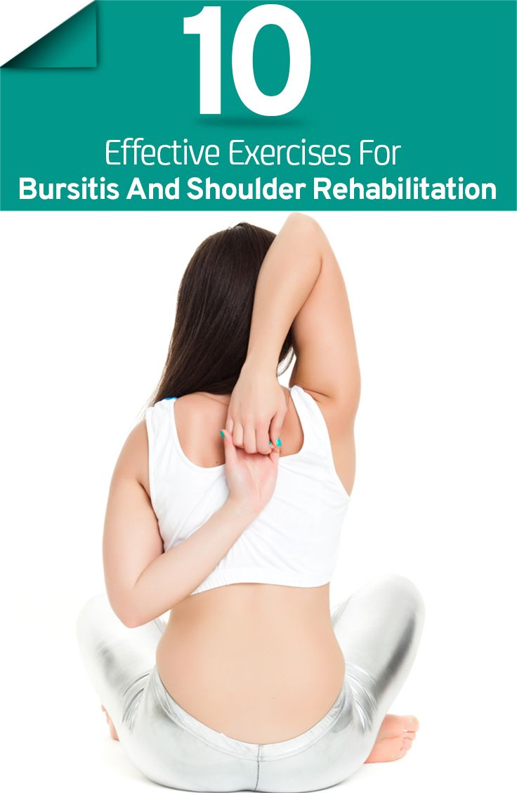 It is not surprising to suffer from shoulder disorders. Here are 10 effective shoulder bursitis exercises for you to try if you are suffering from this disorder.
