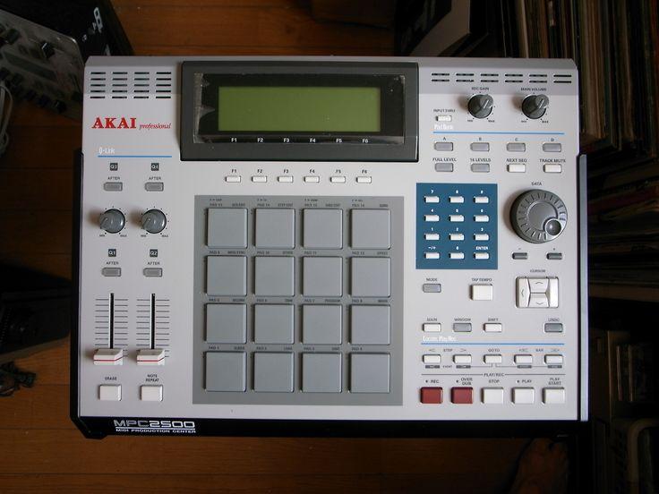 Custom Mpc 2500 Music Production Music Recording
